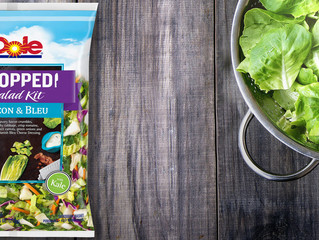 Dole Releases New Salad Line
