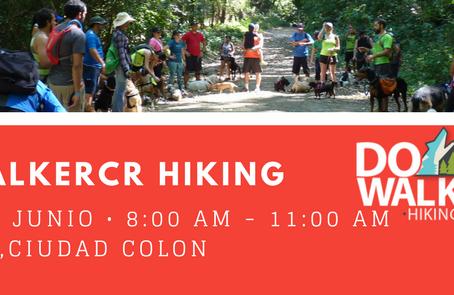 DogWalkerCR Hiking 25 junio