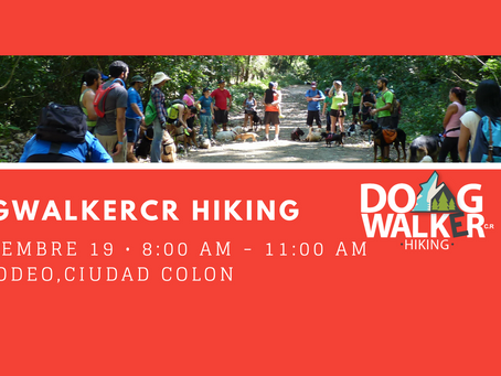 DogWalkerCR Hiking 20 agosto