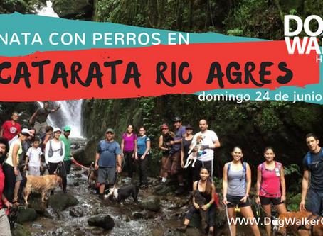 DogWalkerCR Hiking Río Agres y Catarata