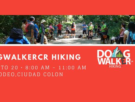 DogWalkerCR Hiking 20 agosto