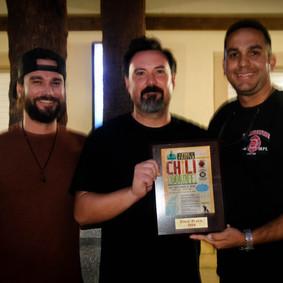 Winner Chief Carlos Aviles and Friends