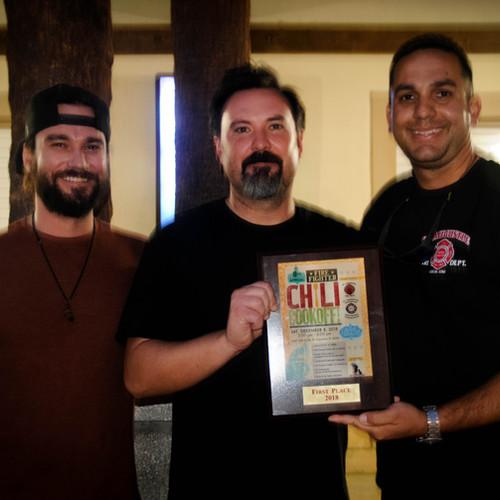 2018 Winner Chief Carlos Aviles and Friends