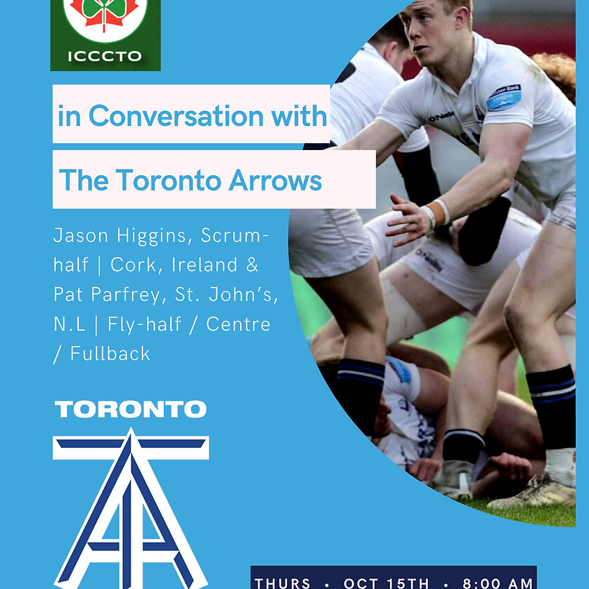 Ireland Chamber of Commerce in conversation with The Toronto Arrows