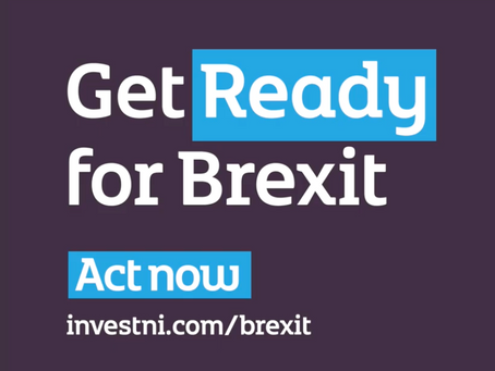 Alastair Hamilton, CEO of INVEST NI launches the Get Ready for Brexit campaign