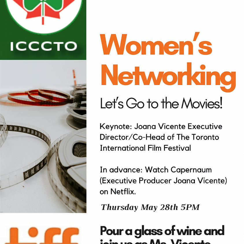 Ireland Chamber: Women's Networking: Let's Go to the Movies
