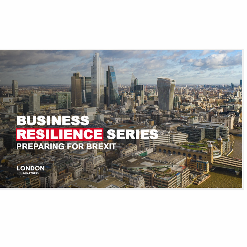"""London & Partners: """"Business Resilience Series - Recruiting Talent and the Implications of Remote Working"""""""