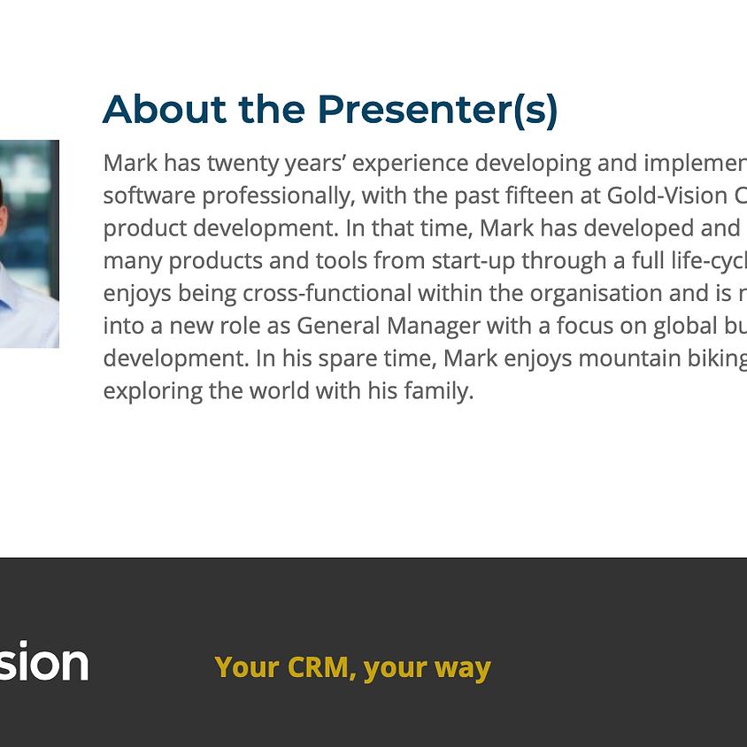 Webinar: CRM is the secret to sales enablement success