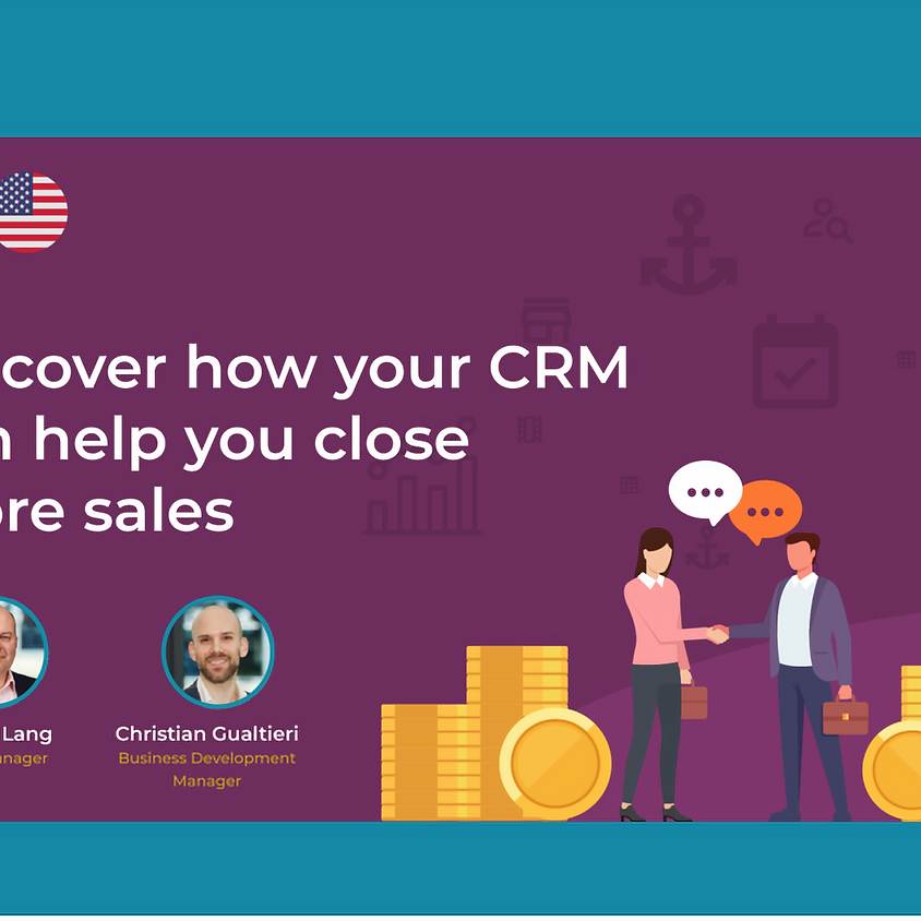 Discover how your CRM can help you close more sales