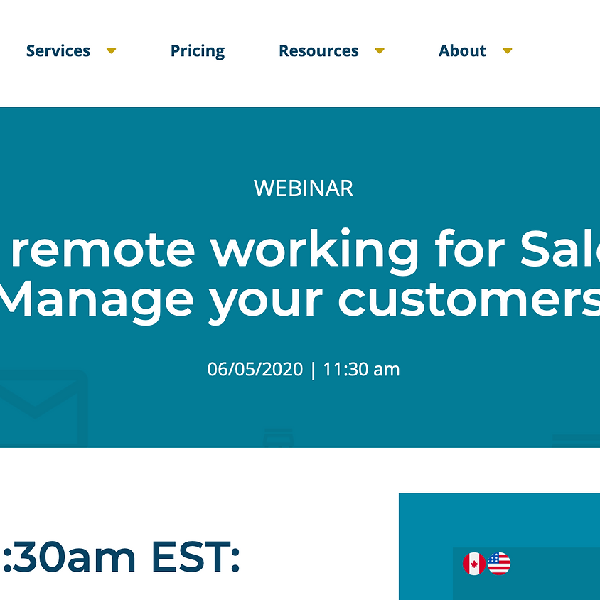 Manage Your Customers While Remote Working