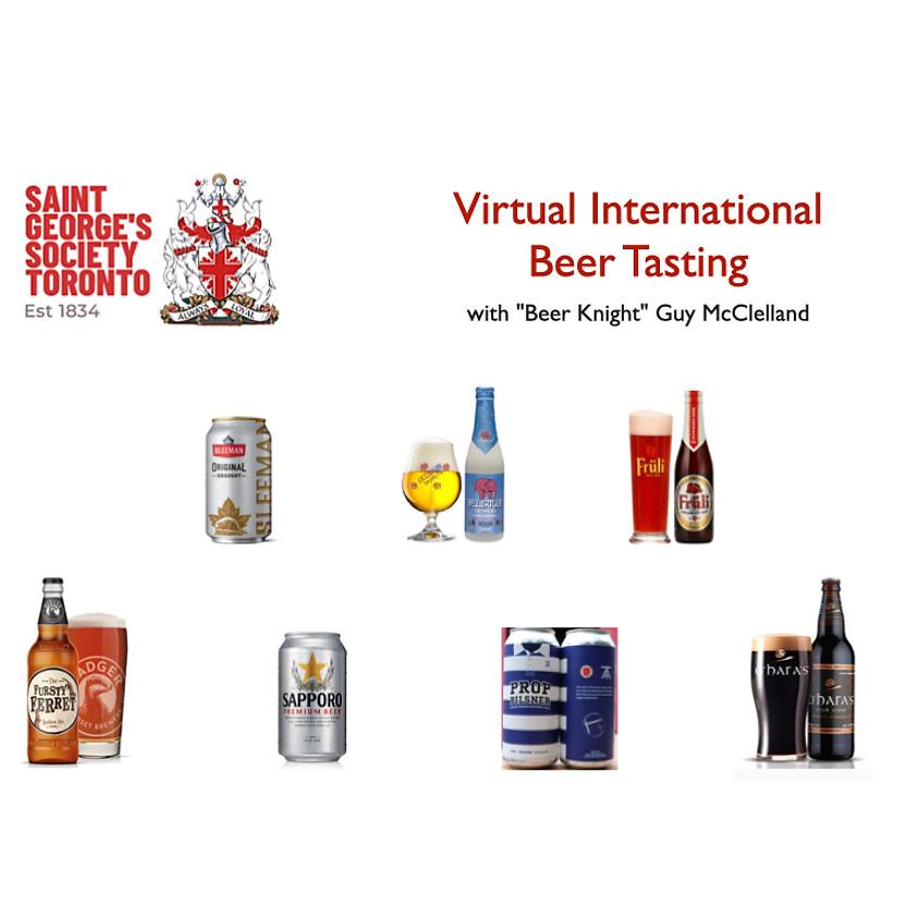 "St. George's Society Toronto - ""Virtual International Beer Tasting Event"""