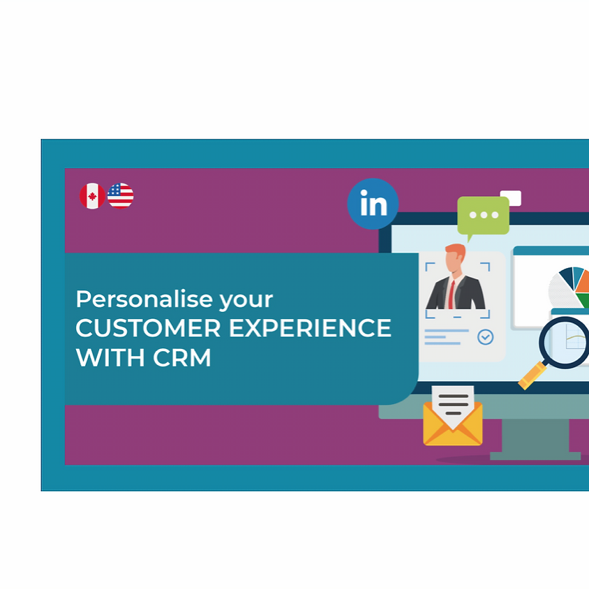 Personalise your CX with CRM