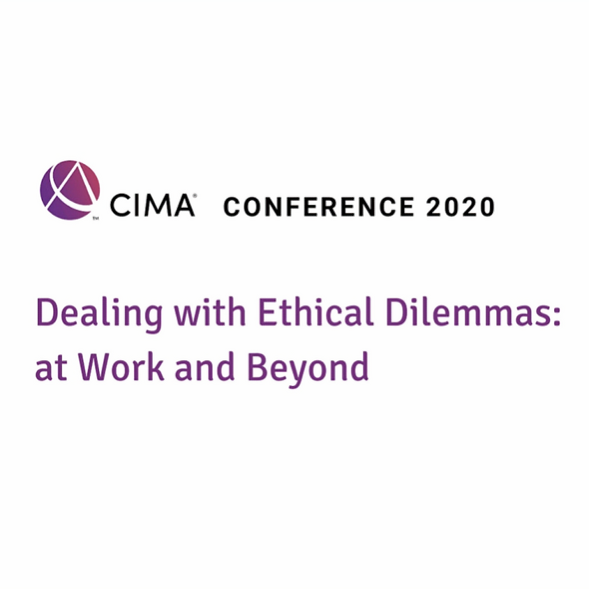 CIMA: Dealing with Ethical Dilemmas: at Work and Beyond
