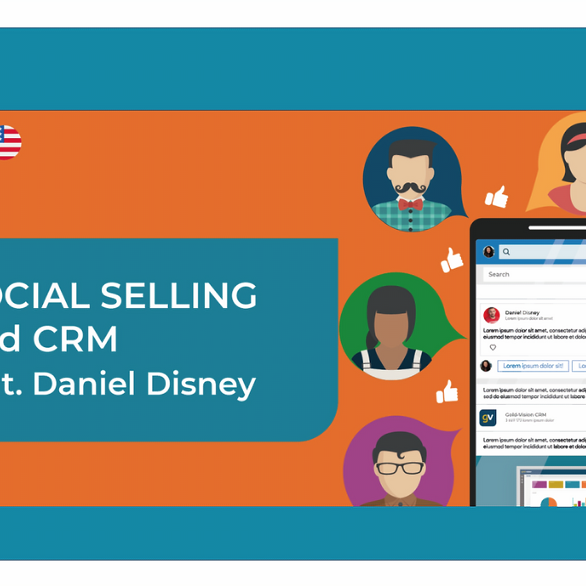 Social selling and CRM