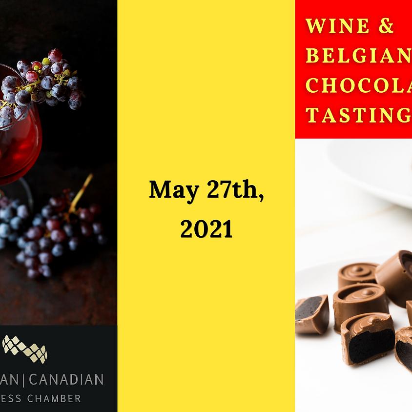 Belgian Chamber: Wine & Belgian Chocolate Tasting