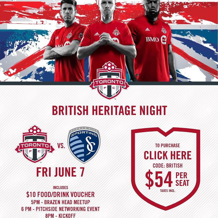 Toronto FC - British Heritage Night