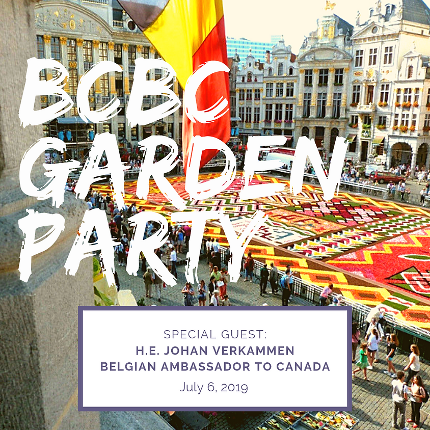Belgian Chamber Garden Party and AGM