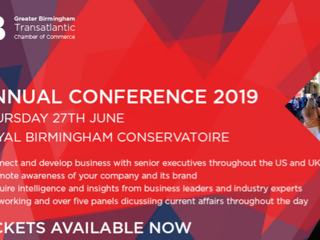 BABC Annual Conference in Birmingham:  A Member of the BritishAmerican Business Network