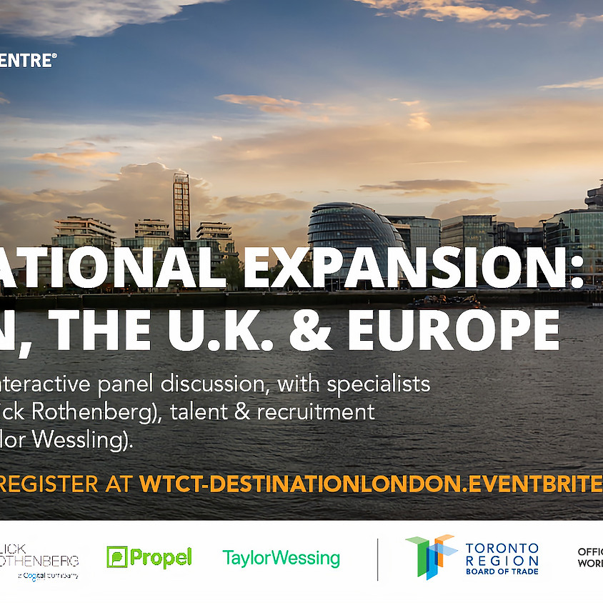 International Expansion: London, the UK and Europe