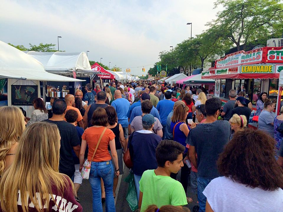 Michigan 39 s best art fairs and festivals for Craft show in michigan