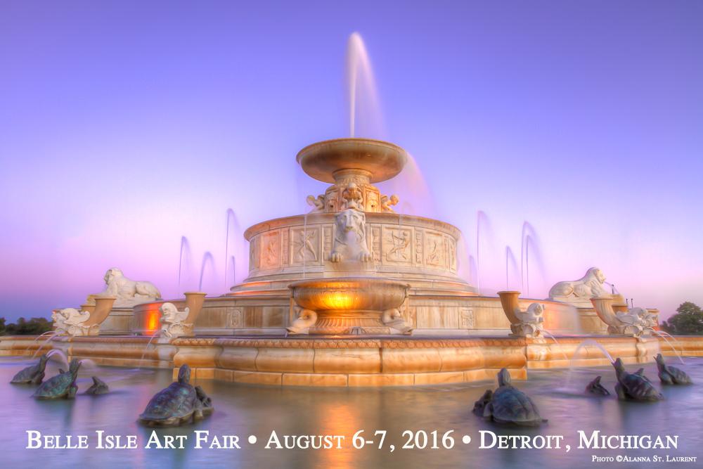 Belle Isle Art Fair, Detroit, Michigan
