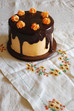 Chocolate Cake with Seville Orange Curd Buttercream and Chocolate Orange Glaze