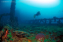 World War 2 shipwreck : Kyokuzan Maru