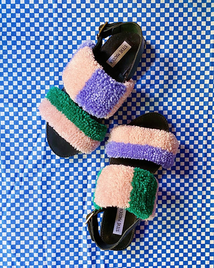 Tufted Sandals- Size 8.5/9