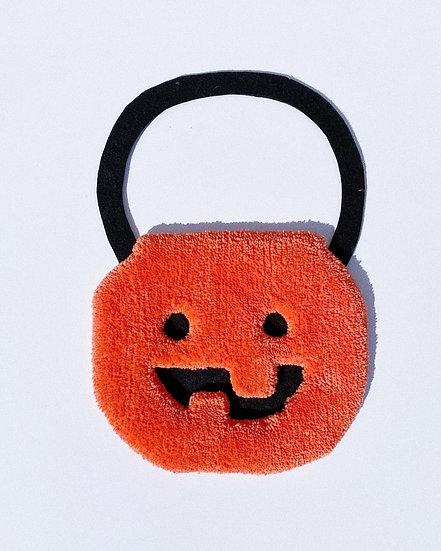 Orange Pumpkin Bucket