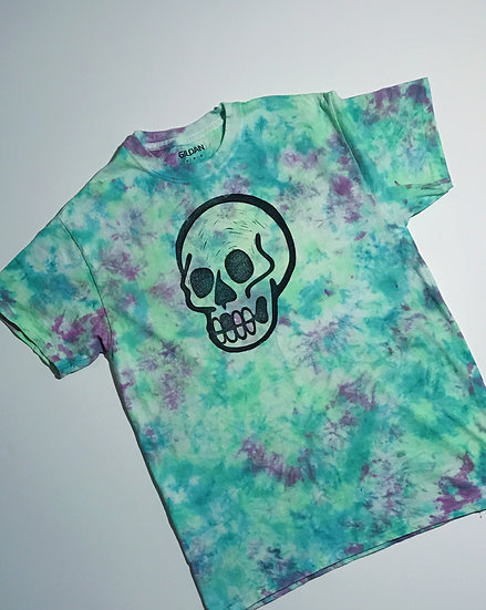 Psychedelic Death Tee- Glow in the Dark