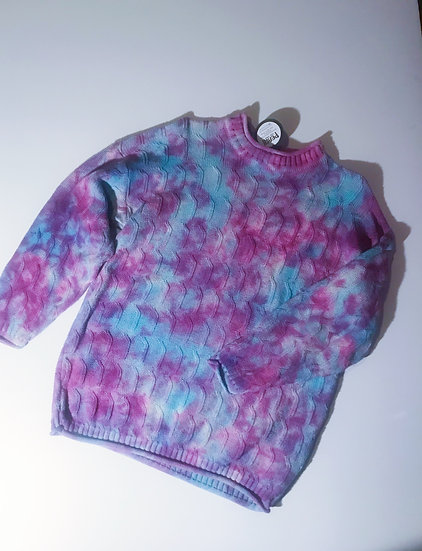 Tie Dyed Sweater- Upcycled