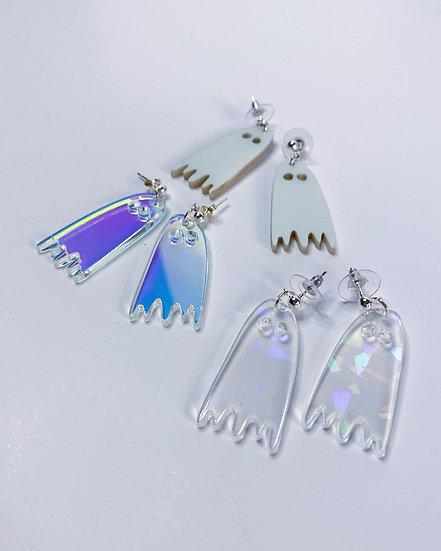 Mini Ghostie Earrings