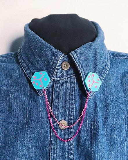 Dice Collar Chain