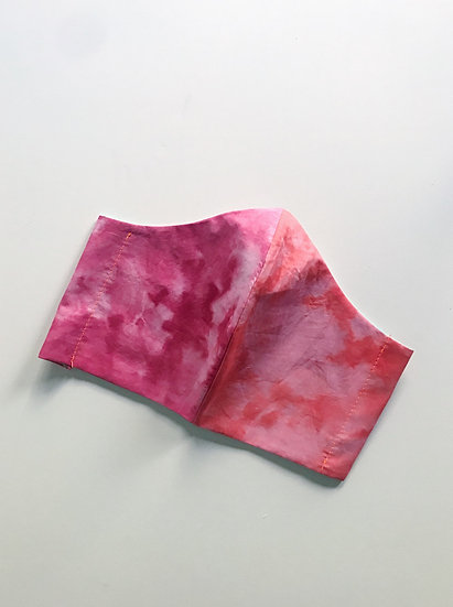 Tie Dyed Mask- Very Berry