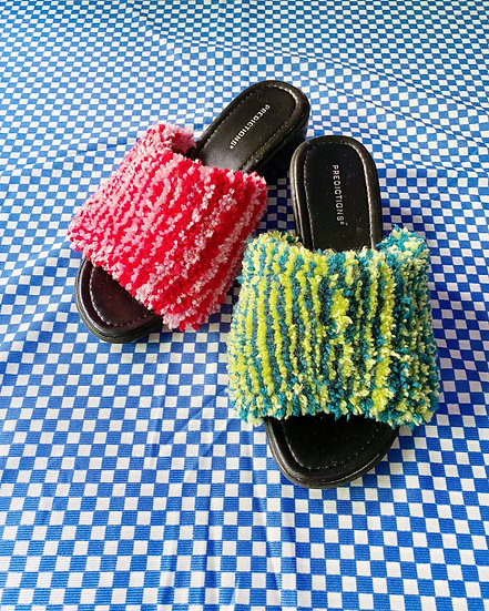 Tufted Sandals- Size 9