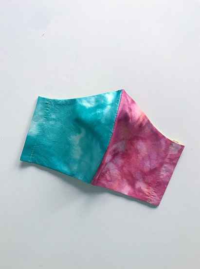 Tie Dye Mask- Totally 90s