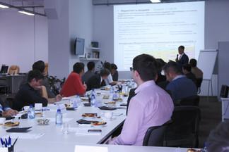 Выступление перед инвесторами фонда DIF24