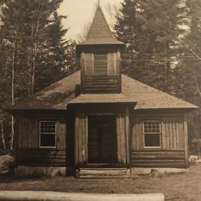 Laura Perkins - Oquossoc's Century Old Log Church