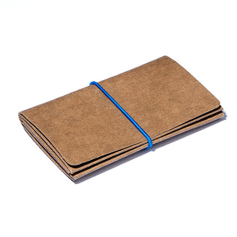 Wallet L - Brown/Blue