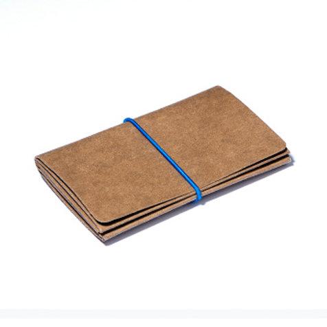Wallet M - Brown/Blue