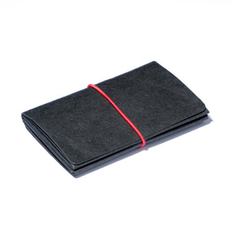 Wallet M - Black/Red