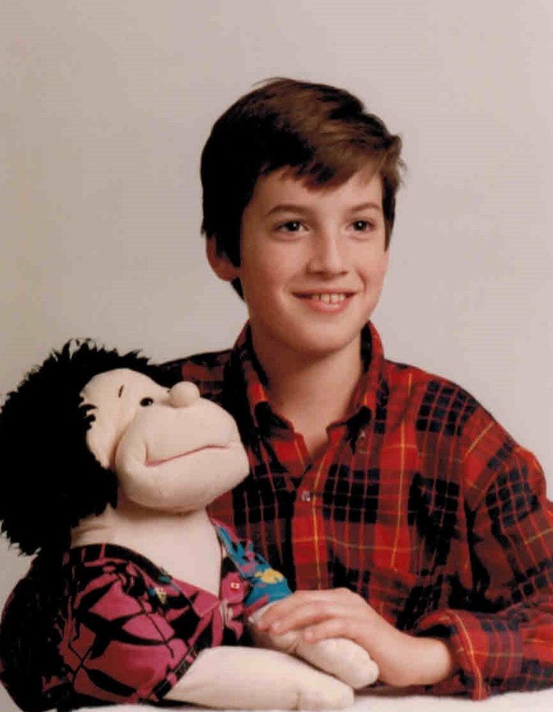 Nicholas and Randy circa 1988