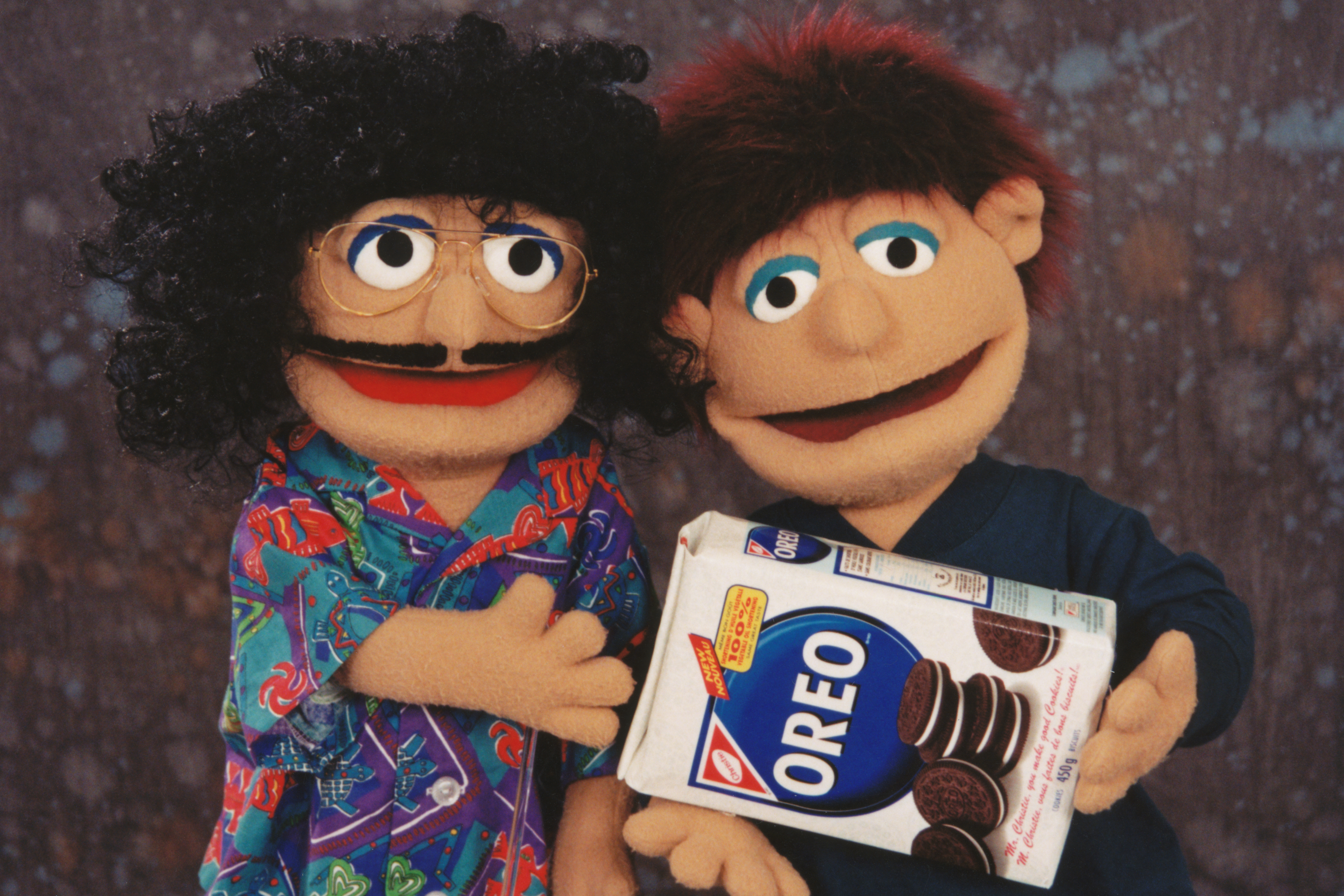 """Weird Al"" and Oreo Puppets"