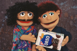 """""""Weird Al"""" and Oreo Puppets"""