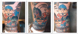 Uber Fan Tattoo Art