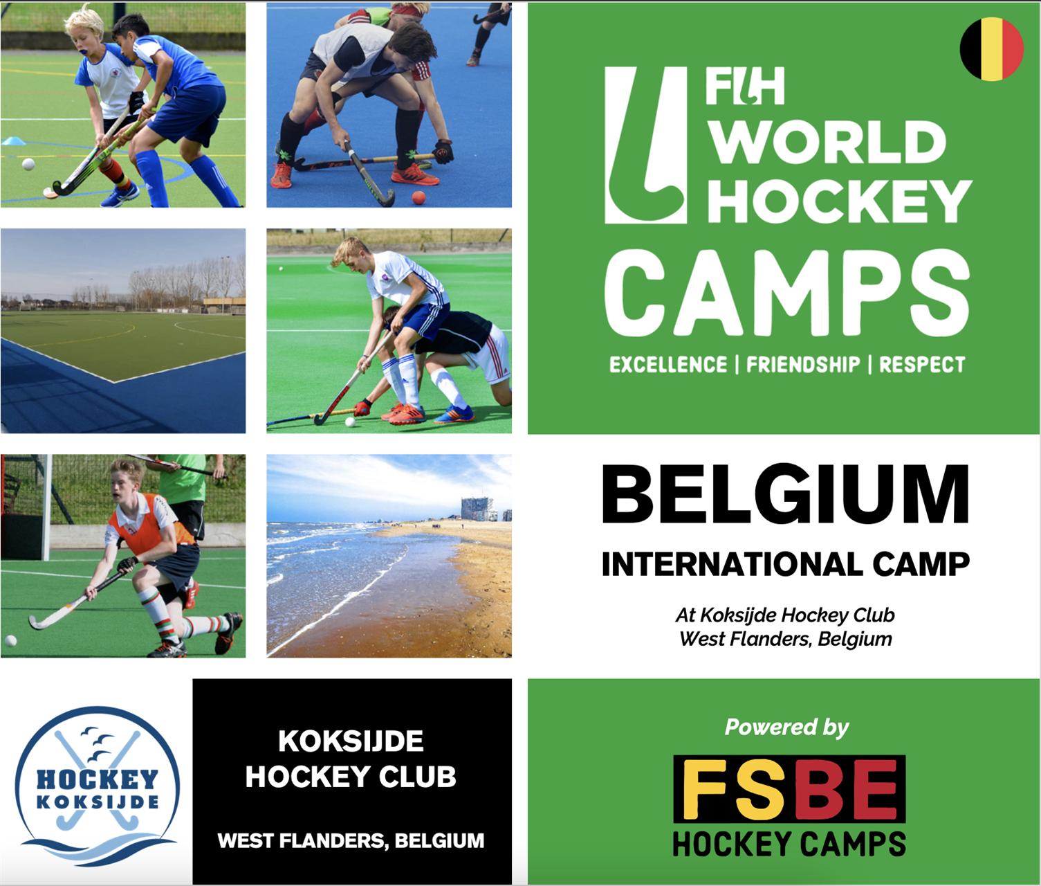 FIH World Hockey Camp Koksijde, BE
