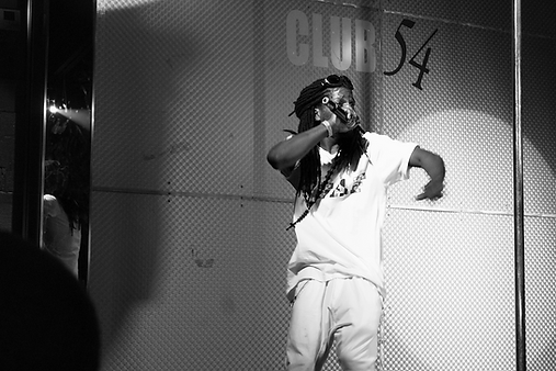 Performance by Suparell at a Who Got Barz? showcase