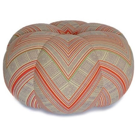 RED ANTHRO pouf