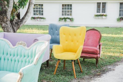 Miami wedding furniture