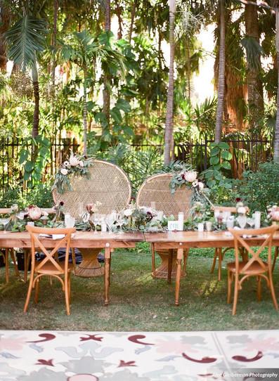 Miami boho weddings